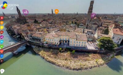 Tour virtuale interattivo Verona360-vista-adige