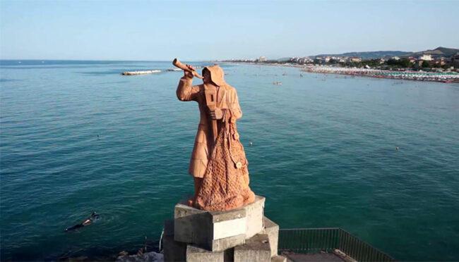 Statua del pescatore