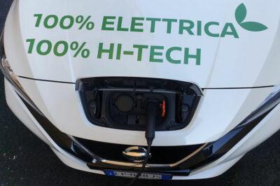 Nissan-leaf e+ in-ricarica