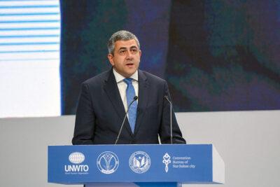 Il segretario generale dell'UNWTO, Zurab Pololikashvili