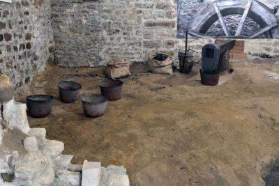 tradizione Force, Museo dei ramai, sala della fonderia