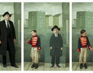 Homage da Saul Steinberg (da Short Stories) 2014