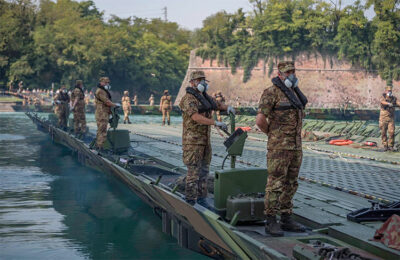 Argo 2020 Militari-del-Genio-Pontieri-costruiscono-il-ponte