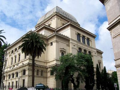 ghetto ebraico Roma-sinagoga