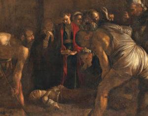 MART Rovereto, Caravaggio,  Seppellimento di Santa Lucia
