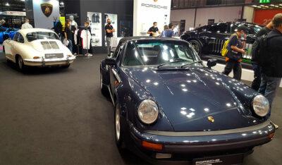 Milano AutoClassica 2020 Stand-Porsche (ph. Paolo Gamba © Mondointasca.it)