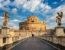 Castel Sant Angelo edificato nel II secolo come mausoleo per l'imperatore Adriano