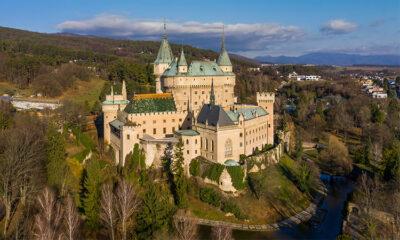 Castelli nel Vecchio Continente Castello-di-Bojnice-Slovacchia
