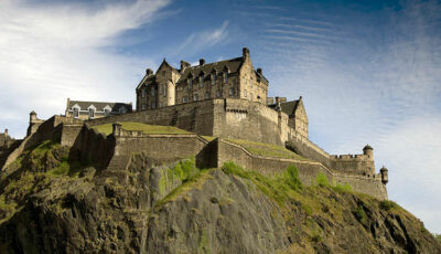 Castelli nel Vecchio Continente Castello-di-Edimburgo-Regno-Unito