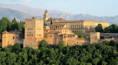 Castelli nel Vecchio Continente L'Alhambra-di-Granada-Spagna