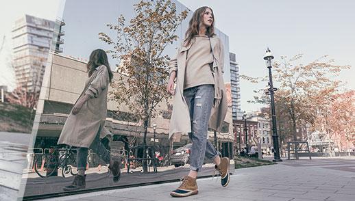 Scarpe comode per passeggiare in libertà con ogni tempo