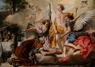 Tiepolo Abramo e i tre angeli