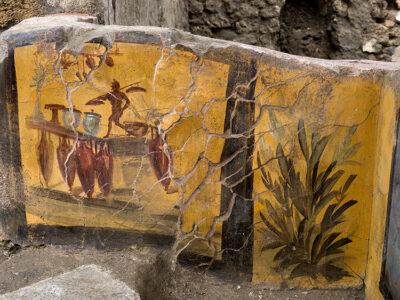 ultima scoperta a pompei Termopolio Regio V