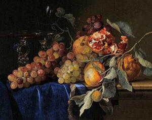 Willelm Van Aelst, 'Natura morta con frutta'