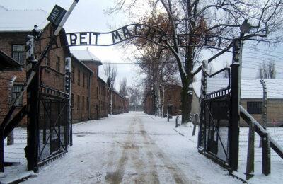 Giorno della Memoria Auschwitz-ingresso
