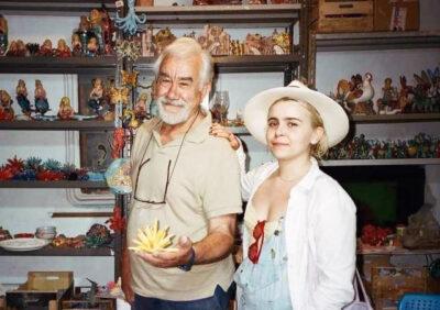 Praiano Michele Castellano con Margaret Whitman