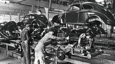 Volkswagen catena-di-montaggio-Typ-1