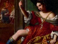 """Elisabetta Sirani, """"Porzia che si ferisce alla coscia"""" 1664 - Collezione Fondazione Cassa di Risparmio in Bologna"""