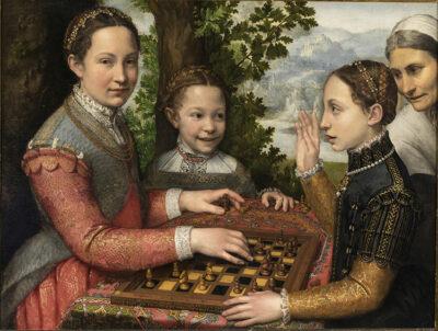 signore dell'artesignmore dell'arte Sofonisba Anguissola Partita a scacchi