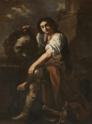 Signore dell'arte Artemisia-Gentileschi David con la testa di Golia