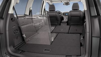 Ford Galaxy familiare piano di carico