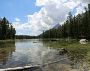 Grand Teton National-Park Summer Lake