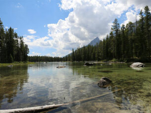 Grand Teton National-Park Summer Lake