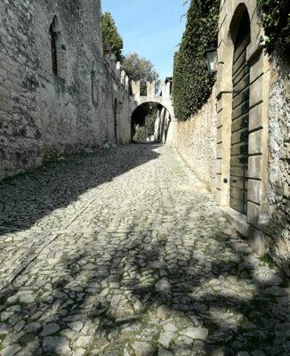 Punta San Vigilio il borgo antico