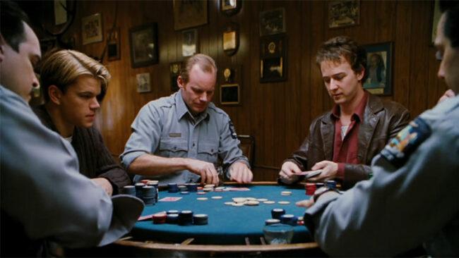 """Scena dal film """"Il giocatore"""", 1988"""