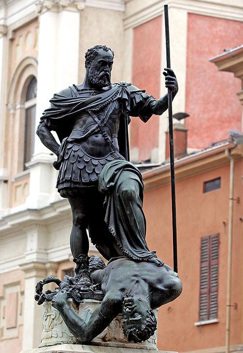 Monumento a Ferrante Gonzaga a Guastalla (ph. Mario Rebeschini, credit Visit Emilia)