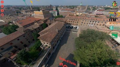 Ravenna dall'alto della Tomba di Dante