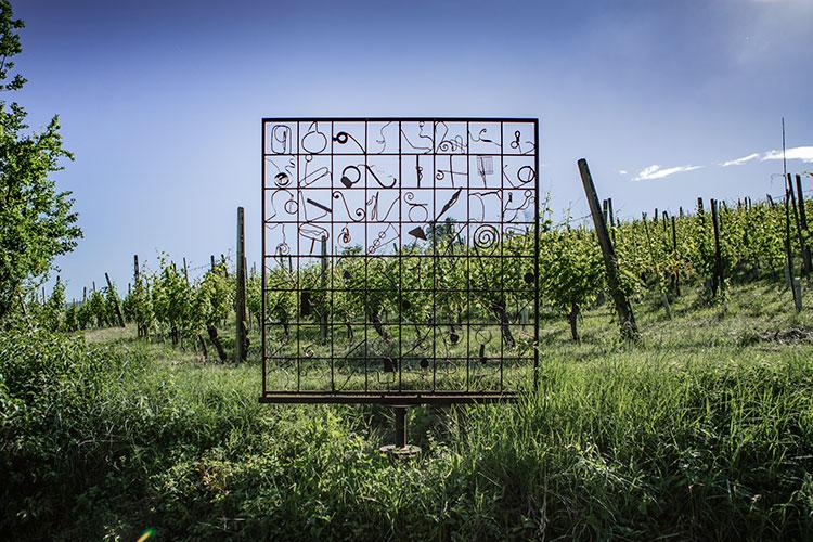 Sentiero dell'Arte, Danilo Cassano, Sinottica di Primavera, 2020 (ph. Michele Riccomini e Alessandro Violi, credit Visit Emilia)