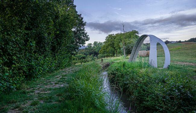 Sentiero dell'Arte, Lorella-Salvagni,-Cèntina, 2019. (foto Michele Riccomini e Alessandro Violi, credit Visit Emilia)