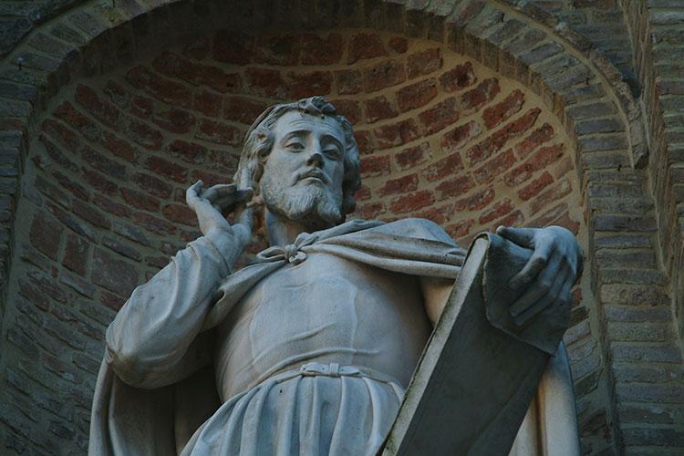 Statue Parlanti a Parma, Correggio, credit Visit Emilia)