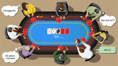 Texas Hold'em Tavolo-da-gioco