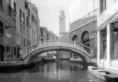 Venezia 1600 Campanile chiesa di Santo Stefano