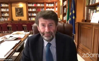 Anno dantesco Dario-Franceschini-in-conferenza-stampa