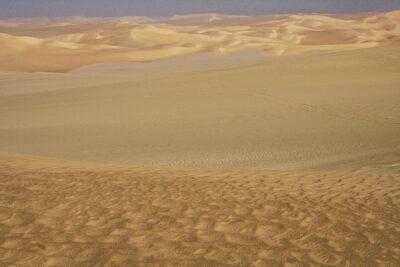 Deserto giallo in Egitto
