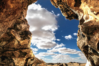Quadri di luce nel deserto nero