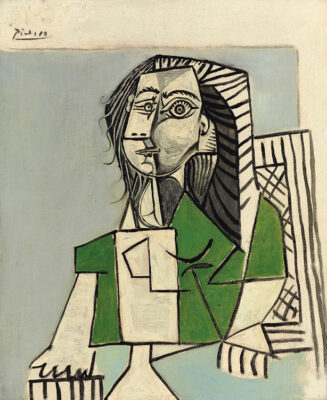 Casa Museo Palazzo Maffei Pablo Picasso Femme assise 1953