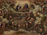 Parte del bozzetto del Paradiso di Tintoretto (1588-1592)