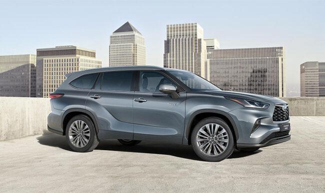 Toyota Highlander Full Hybrid Electric