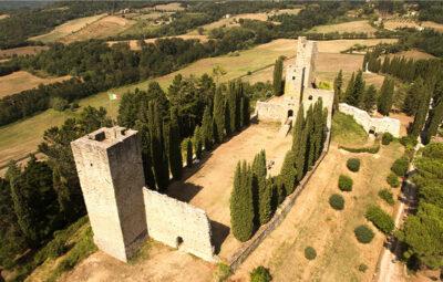 Castello-di-Romena veduta della fortezza