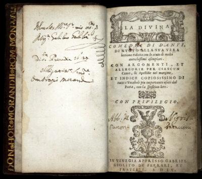 Divina-Commedia-del-1555-appartenuta-a-Galileo-Galilei