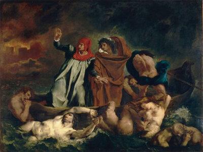 Eugène-Delacroix-Iracondi-e-accidiosi-nella-palude-stigia