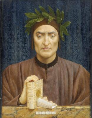 Novello da Polenta_ Henry-Holiday_Portrait-of-Dante