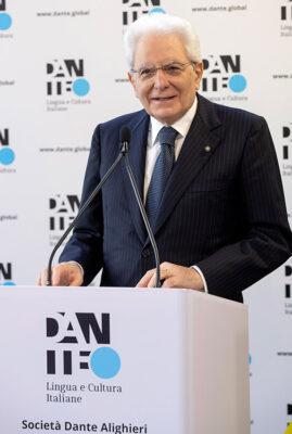Il-Presidente-Sergio-Mattarella-allla-cerimonia-di-inaugurazione-della-piattaforma-digitale-Dante.Global,-foto-Quirinale