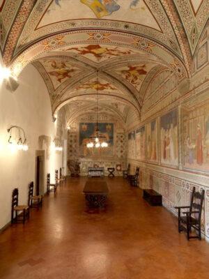 esilio di Dante Interno-del-Castello-Malaspina