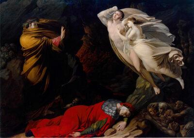 La visione dell'arte Nicola-Monti_Francesca-all'Inferno