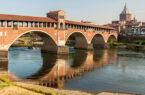 Via Francisca Ponte Coperto-Pavia